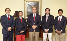 Five Inducted into Phi Beta Kappa